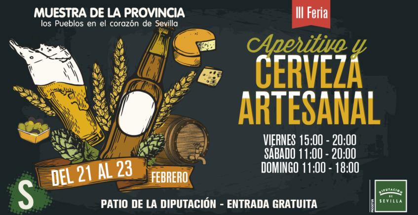 La III edición de la Feria de la Cerveza Artesanal y el Aperitivo llega a Diputación