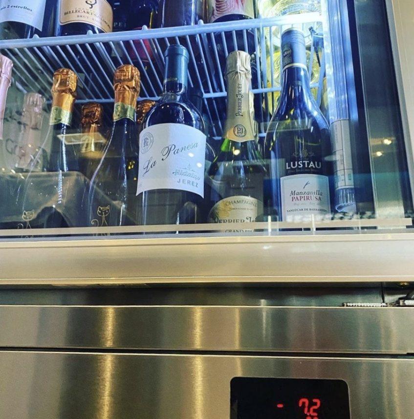 En Los Baltazares las bebidas 'heladas' se sirven entorno a los menos siete grados. Foto cedida por el establecimiento.