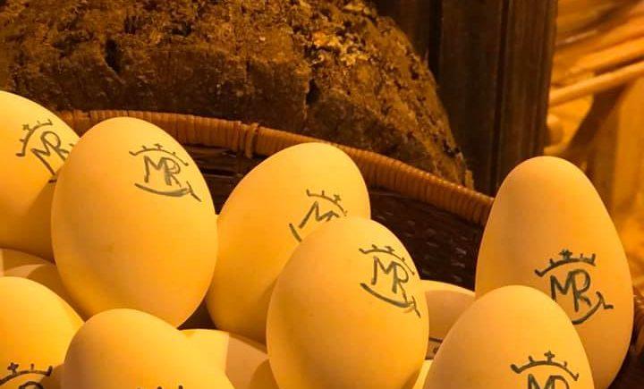 Los huevos en Cuevas Anita la de san Miguel... mejor de oca y trufados