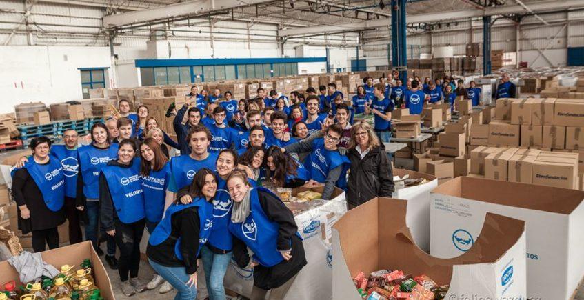 La Asociación de Hosteleros dona su excedente de comida al Banco de Alimentos