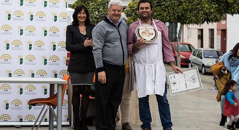 La I Feria del Queso Artesanos de Santiponce premia a Flor de Cazalla en dos categorías