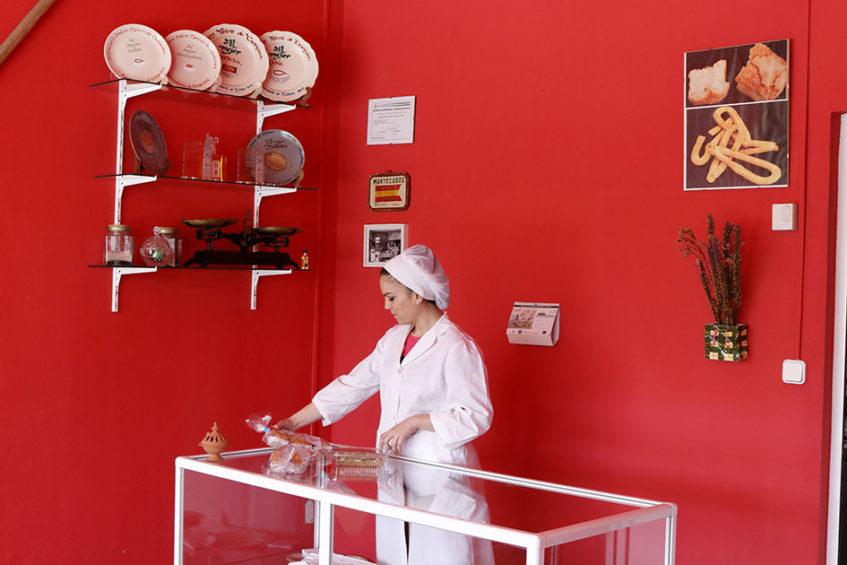 Confitería Julia Ávalos, de reciente creación, también apuesta por este dulce autóctono. Foto cedida por el Ayuntamiento de Estepa