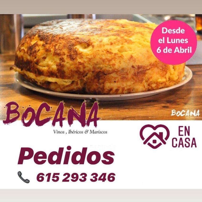 Las tortillas de patatas de Bocana gozan de gran fama. Foto cedida por el establecimiento