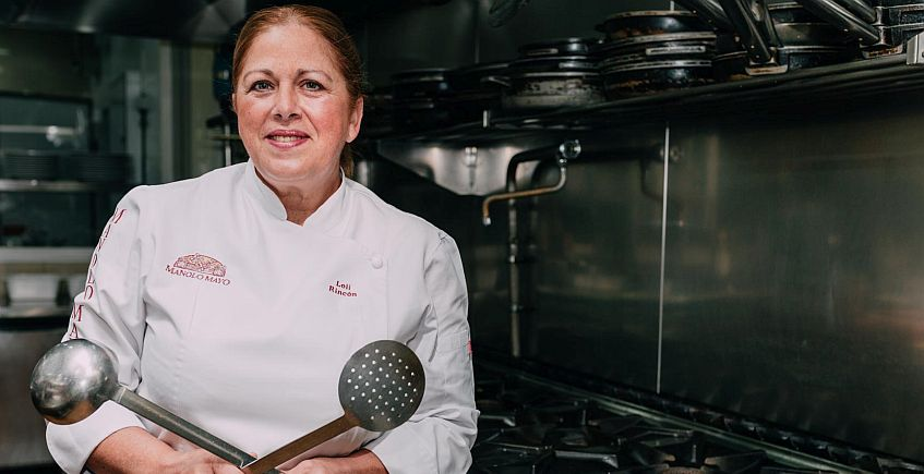 Loli Rincón. Jefa de cocina Manolo Mayo847