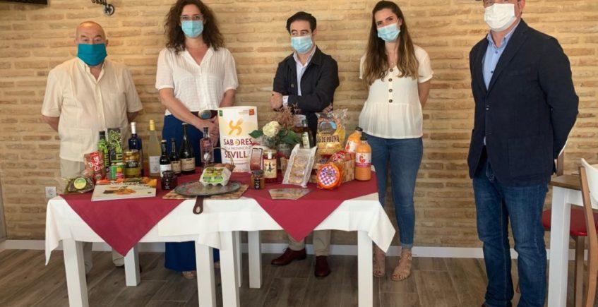Los productos 'Sabores de la Provincia de Sevilla' se promocionan en los diez restaurantes de la marca