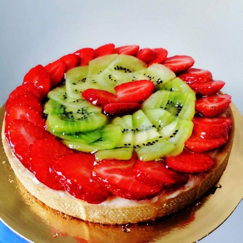 En el ámbito de la repostería, Portofino es conocido por sus tartas de frutas. Foto cedida por el establecimiento