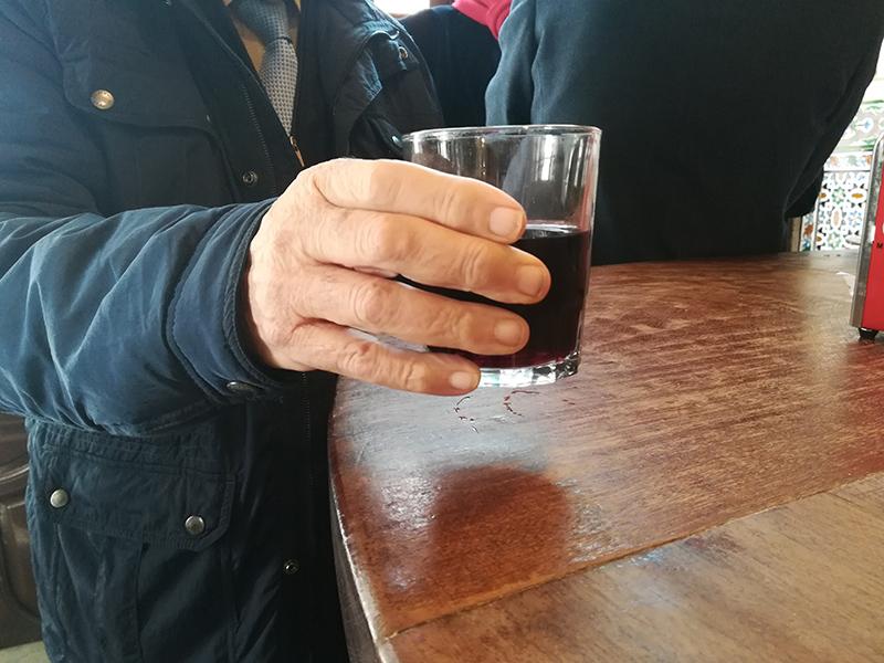 El coronel Ramón Cantos Maurín popularizó en los años 20 estaba bebida que hoy lleva su nombre. Foto cedida por el establecimiento