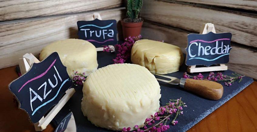 Popurry, los 7 quesos veganos hechos en Castilleja