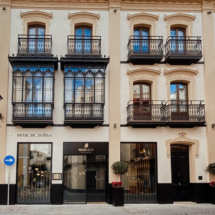 Recoveco se encuentra en el número 8 de la calle Ortiz de Zúñiga del centro de Sevilla. Foto cedida por el establecimiento