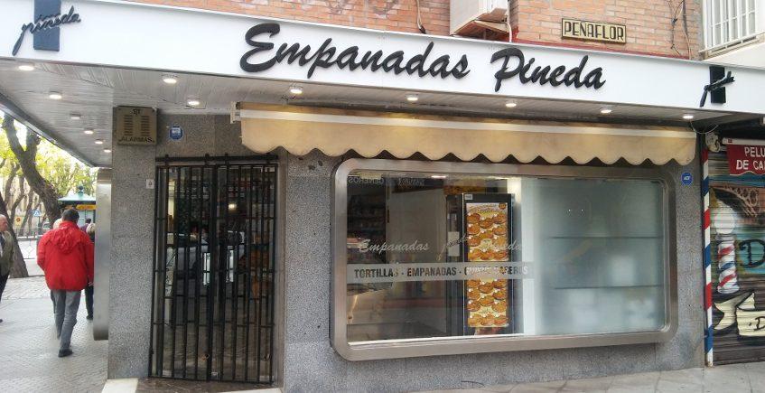 Empanadas Pineda abrió sucursal en Sevilla a mediados de 2019. Foto: CosasDeComé