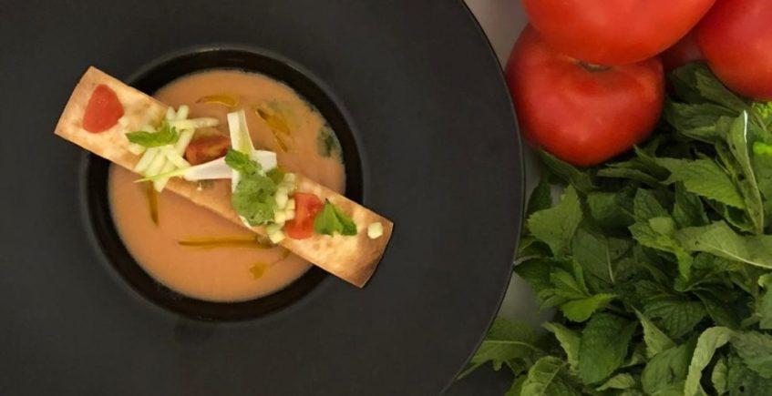 Gazpacho andaluz al estilo de Juanma restaurante