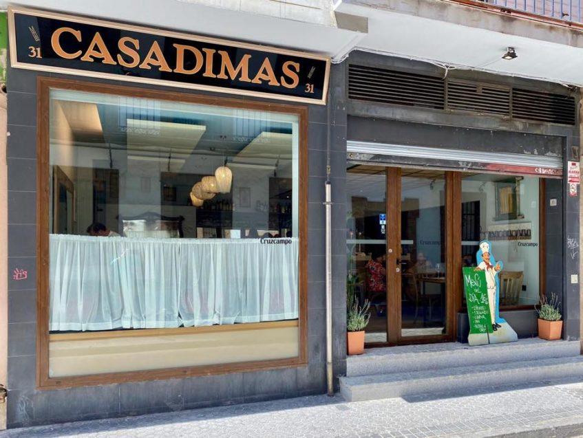 El establecimiento se ubica en la calle Jesús del Gran Poder. Foto cedida por el grupo La Azotea