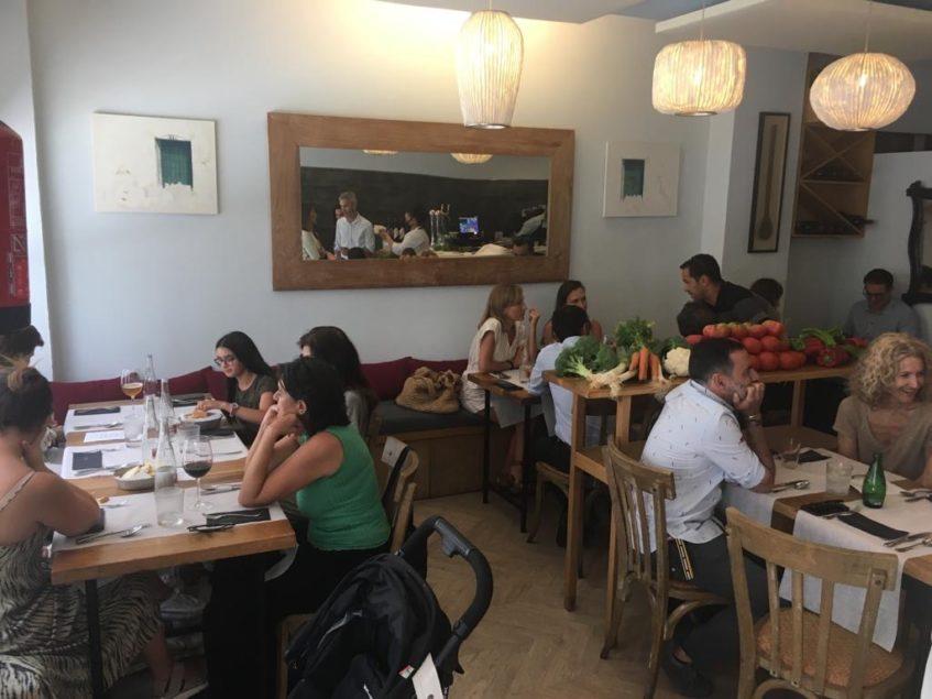 Algunos de los platos de los menús del día irán rotando para dar a los clientes la posibilidad de no repetir. Foto cedida por el grupo La Azotea