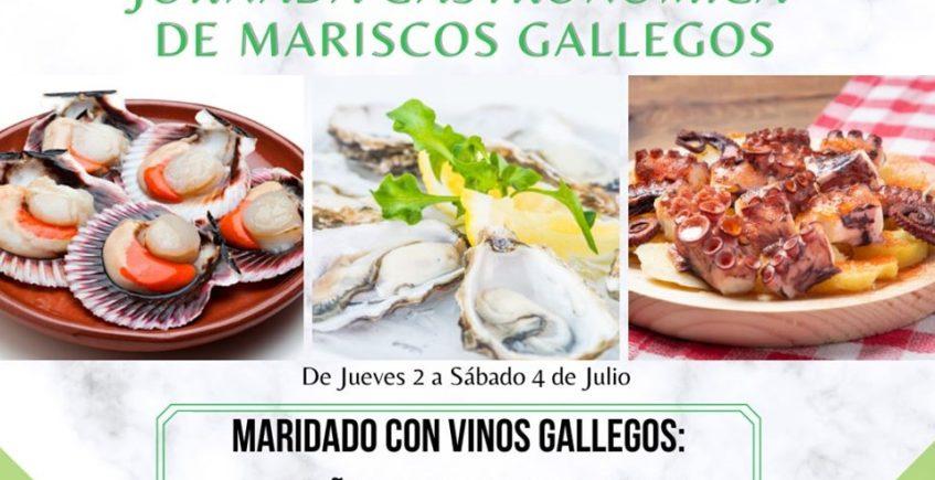 Jornadas Gastronómicas del Marisco Gallego en La Vespa de Bernier