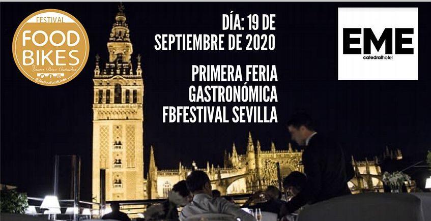 Sevilla acogerá el primer encuentro gastronómico FoodBikesFestival el 19 de septiembre