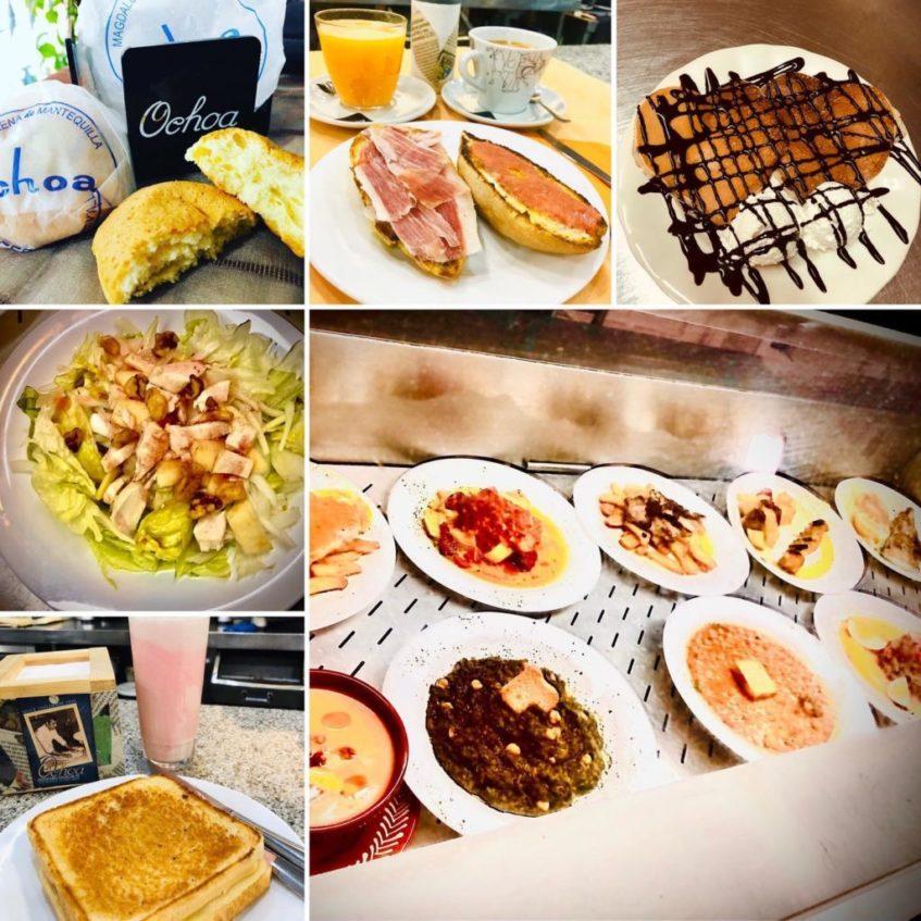 Confitería, meriendas y algúnos menús del día regresarán a Ochoa. Foto cedida por el establecimiento