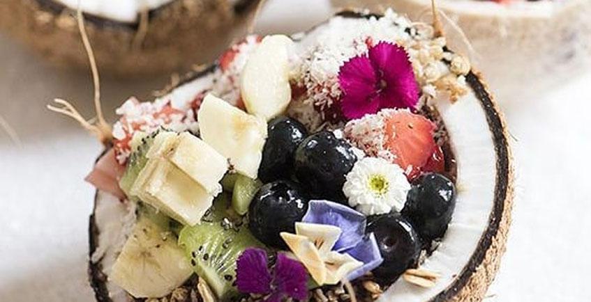 Cocos rellenos para desayunar en Los Remedios