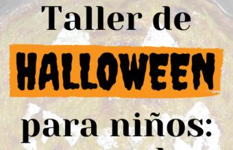 Taller de cocina para niños por Halloween