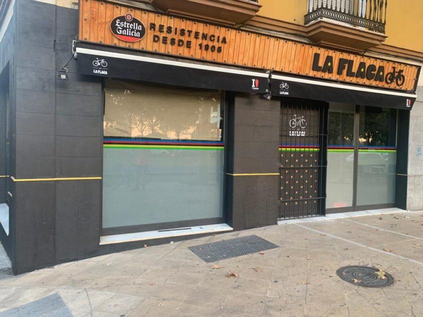 El establecimiento se ubica en el número 35 de la calle Torneo. Foto cedida por La Flaca