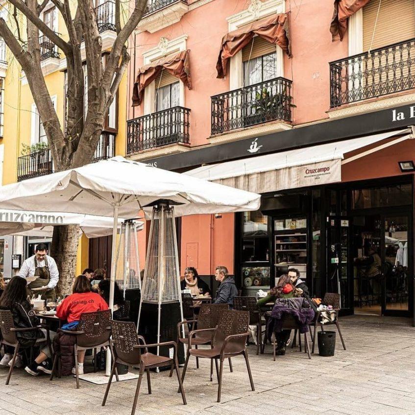 Todos los restaurantes de Spala cuentan con amplias terrazas. Foto cedida por el grupo