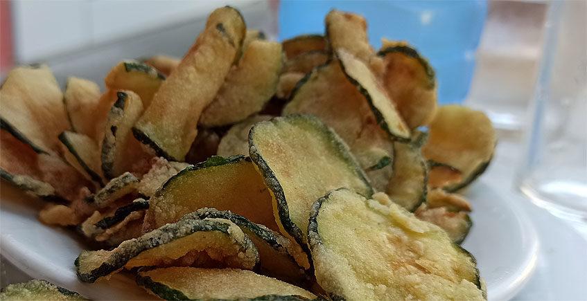 Los calabacines fritos del bar Casa Casimiro