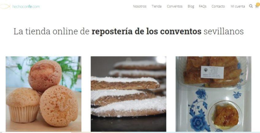 Nace 'Hecho con fe', el torno online de los dulces conventuales de Sevilla