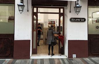 La escalivada con sardinas de Olivares Bar