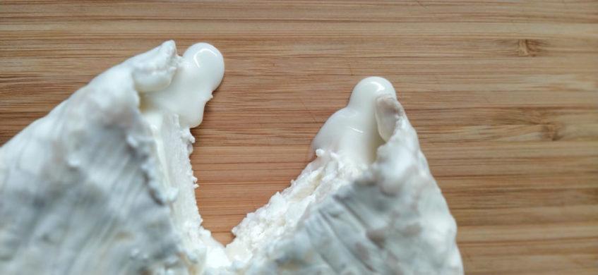 Queso Concha, la última creación quesera de Conchita Saldaña. Foto cedida por el establecimiento