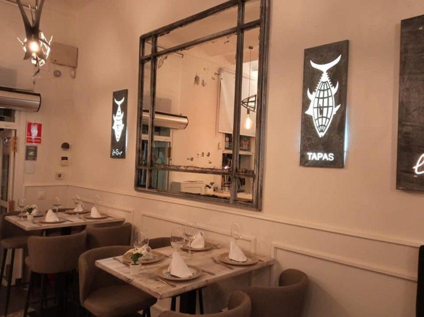 Salón interior del nuevo La Sal inaugurado el 6 de diciembre en Sevilla. Foto cedida por el establecimiento