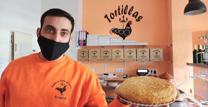 La tienda de los 90 guisos...y las tortillas con cebolla