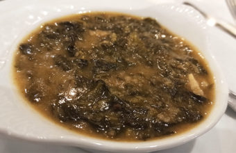 Las espinacas esparragás de Doña Guadalupe