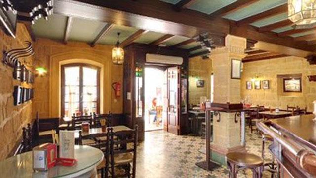 Interior taberna Jicales