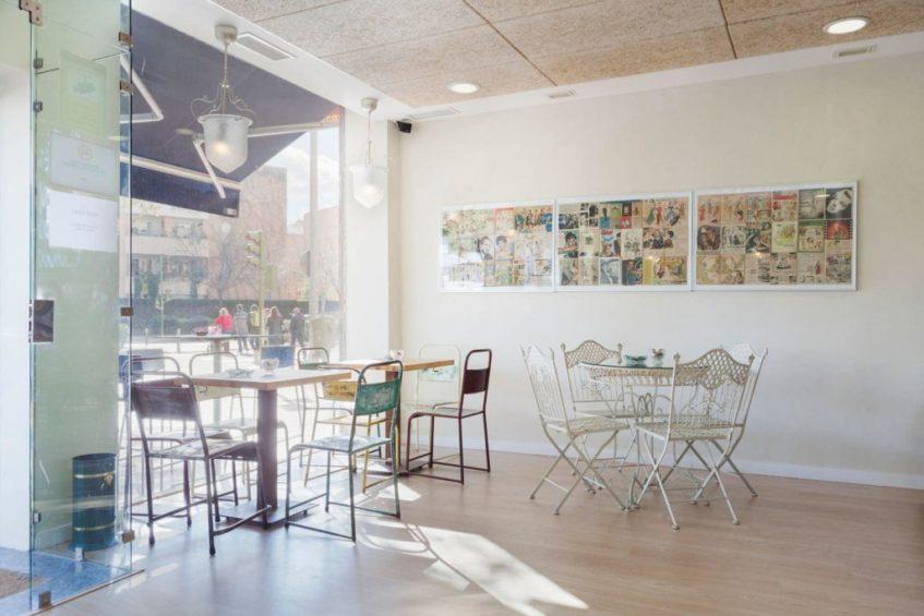 Zona interior de Isolde, decorada con mimo por sus propietarios. Foto cedida por el establecimiento