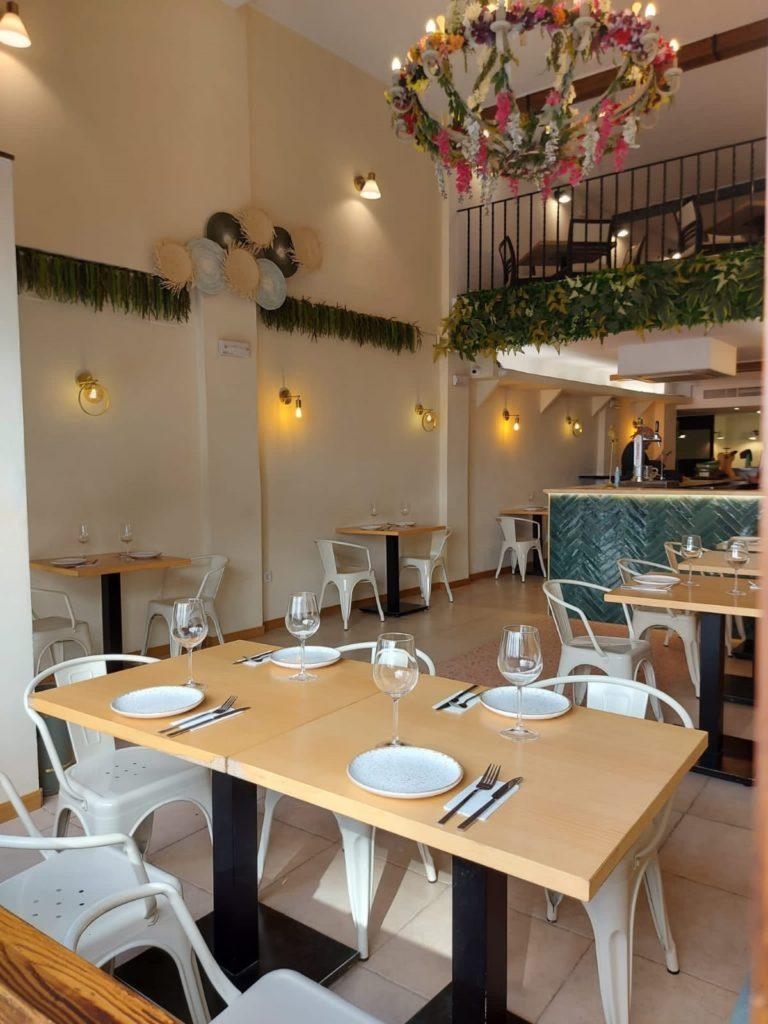 El establecimiento cuenta con dos plantas y en su decoración introduce elementos vinculados tanto a España como a Venezuela. Foto cedida por el establecimiento