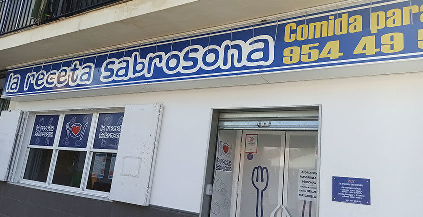 La Receta Sabrosona inaugura servicio a domicilio