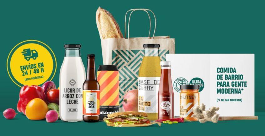 TOC Away se transforma en tienda online de comida preparada 'real y sostenible' a domicilio