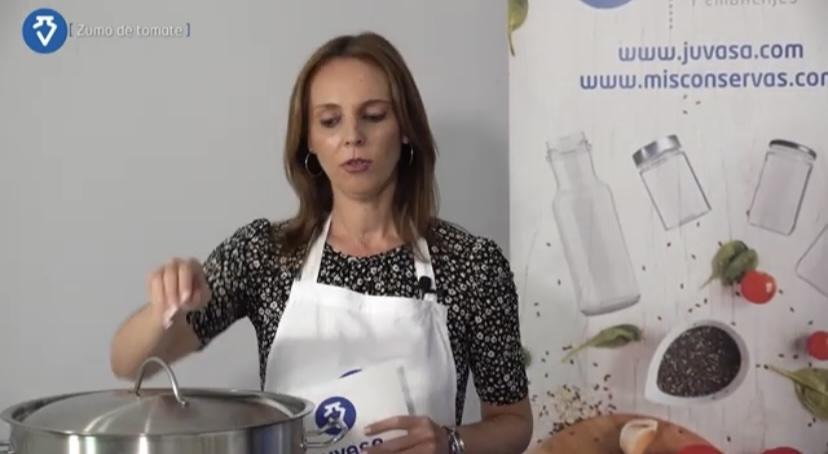 Las recetas son detalladas en sencillos vídeos explicativos. Foto cedida por Juvasa