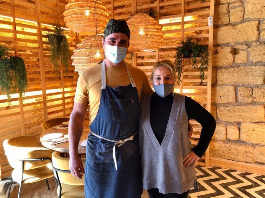 Ramón Toro y Almudena Romero, propietarios de Cantina Kulinaria. Foto: CosasDeComé