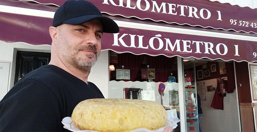 Kilómetro 1, la tortilla que ha hecho historia