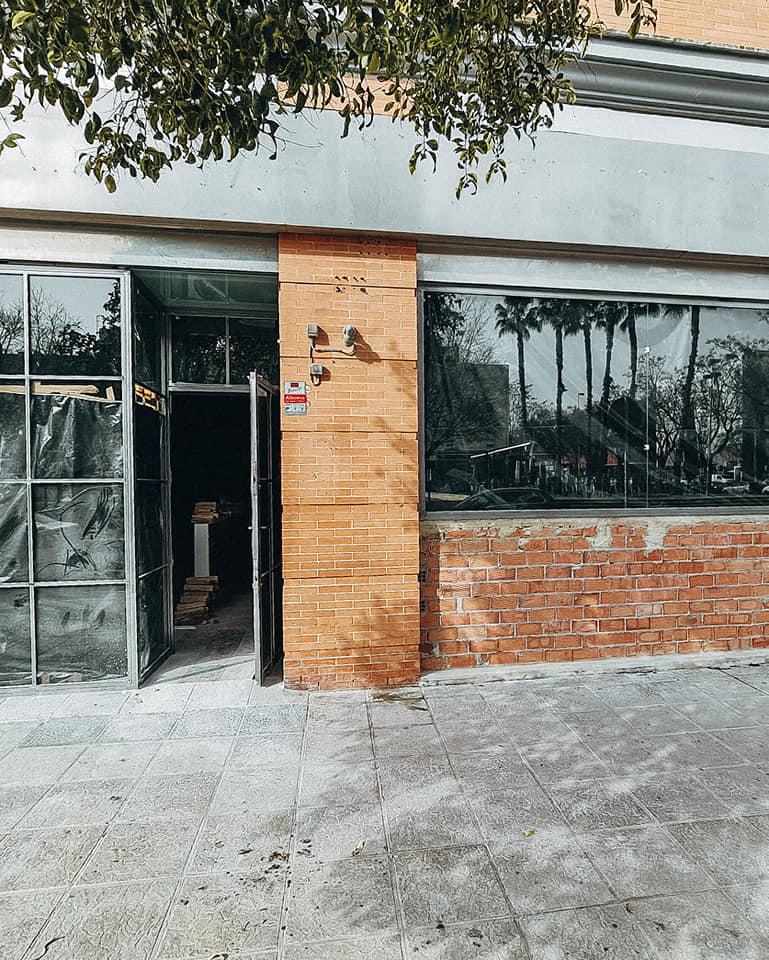 Estado actual de las obras del local de Los Bermejales. Foto cedida por el establecimiento