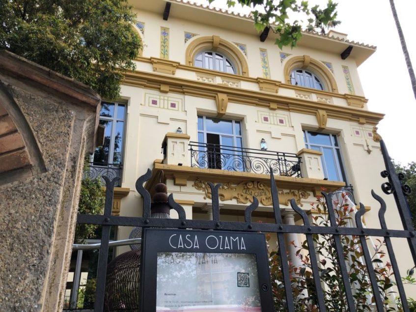 Fachada exterior del edificio de origen modernista. Foto: CosasDeComé