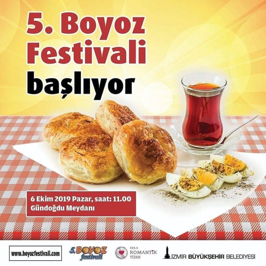 La ciudad de Izmir cuenta con su propio festival gastronómico dedicado a la variedad turca de estas tortas. Foto cedida por José Antonio Suárez