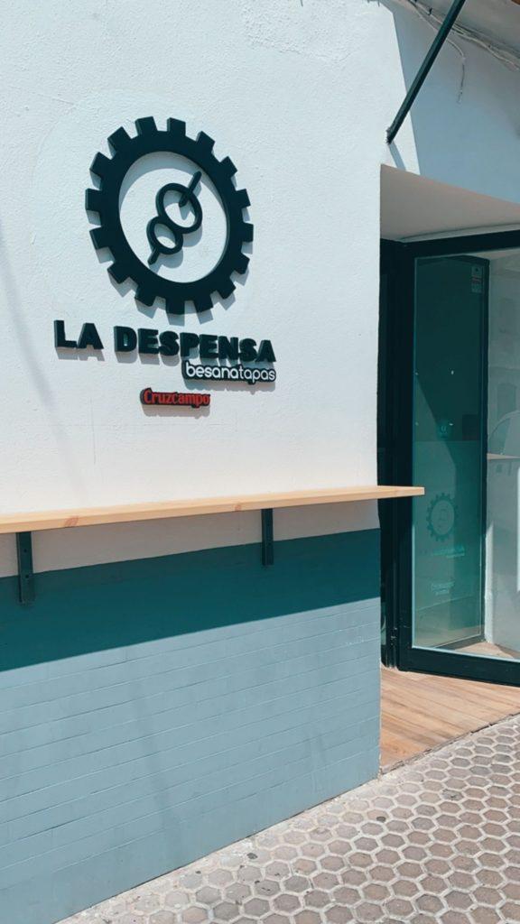 El establecimiento se ubica en el número 6 de la calle La Plaza de Utrera. Foto cedida por La Despensa de Besana
