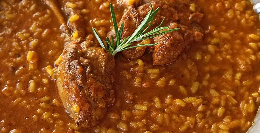 El arroz con pato de La Cocina de Mi Suegra