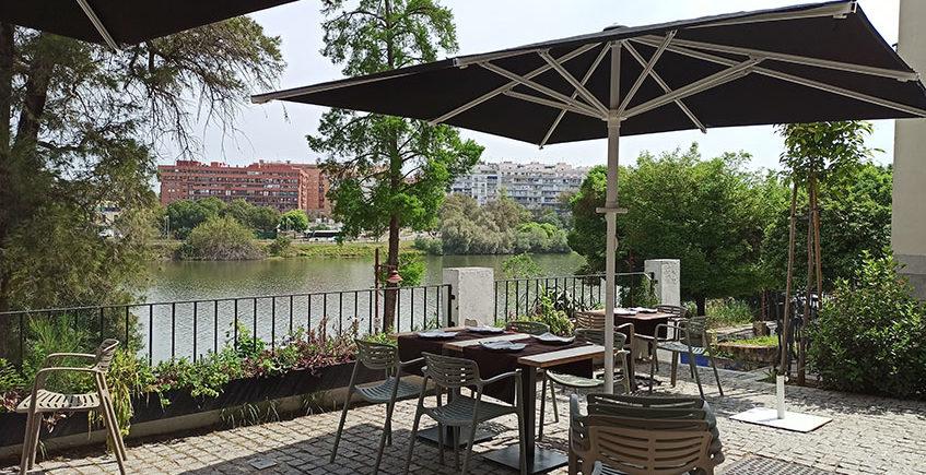 La terraza del restaurante De la O