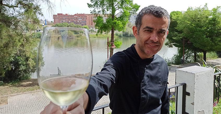 Manuel Llerena, el cocinero que dibuja los platos