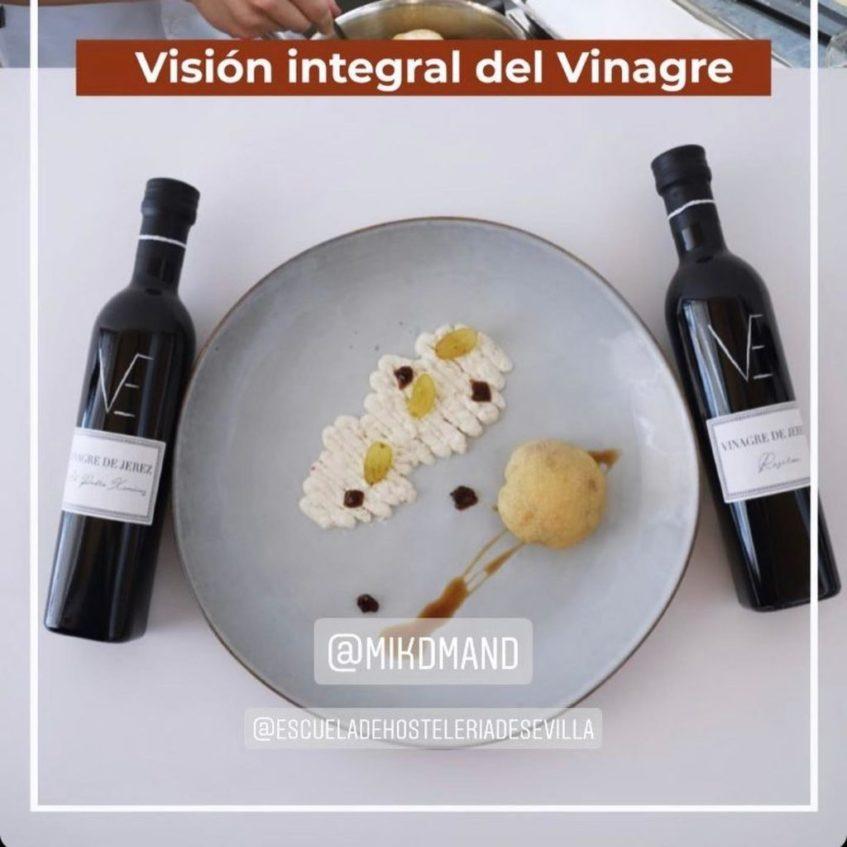 Creación ganadora. Foto cedida por la Escuela de Hostelería de Sevilla