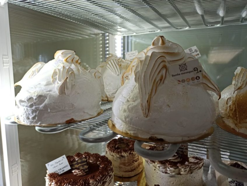 Las bambas de merengue. Foto cedida por el establecimiento