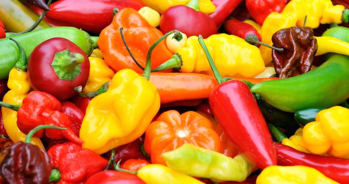El chile, condimento mexicano por excelencia. Foto cedida por la web del Gobierno de México