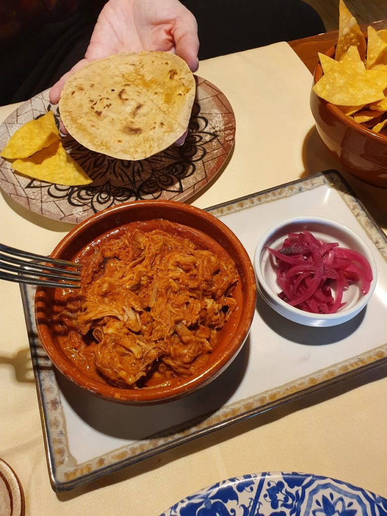 Cochinita pibil del restaurante Sed de México. Foto cedida por el establecimiento